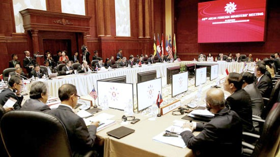 Sukes  Konferensi AMM-46 memanifestasikan solidaritas dan kebulatan fikiran  dari ASEAN - ảnh 1