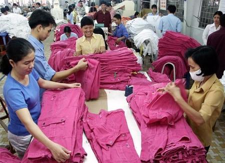 Tekstil dan produk tekstil Vietnam : 6 bulan ekspor mencapai USD 9 miliar - ảnh 1