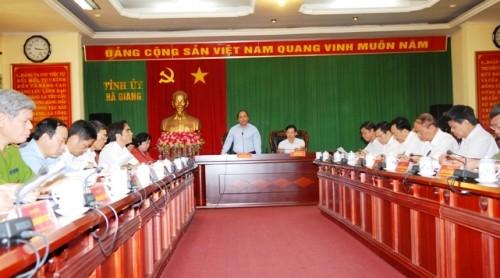 Propinsi Ha Giang perlu mengembangkan potensi dan keunggulannya - ảnh 1