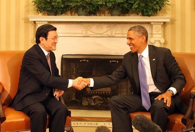 "Koran ""The Washington Post""memuat pesan Presiden Truong Tan Sang di AS - ảnh 1"