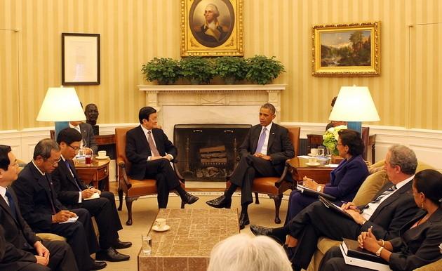Pernyataan Bersama Vietnam-AS - ảnh 1