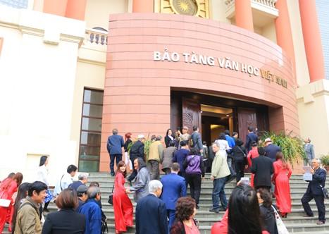 Museum Kesusastraan Vietnam resmi dibuka - ảnh 1