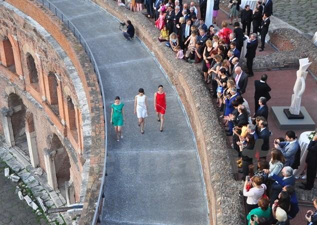 Hari kebudayaan Vietnam yang bergelora di Roma - ảnh 1