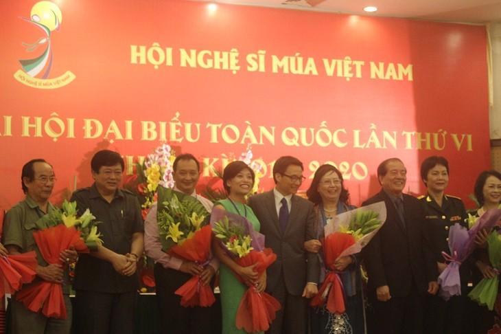 Kongres Nasional ke-6 Asosiasi Seniman Tari Vietnam (2015-2020) - ảnh 1
