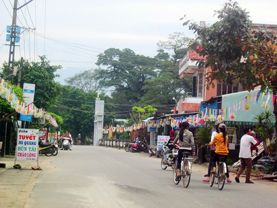 Pembangunan pedesaan baru di kecamatan Duy Son, kabupaten Duy Xuyen, propinsi Quang Nam - ảnh 1