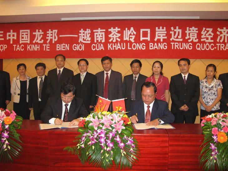 Propinsi Cao Bang (Vietnam) memperhebat pengembangan ekonomi koridor dengan kota Baise, Tiongkok - ảnh 1