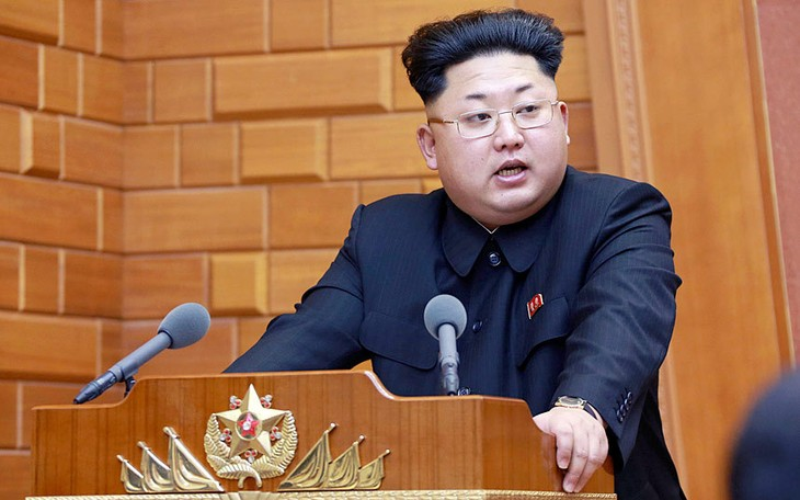 Pemimpin RDR Korea, Kim Jong Un untuk pertama kalinya berpendapat tentang uji coba nuklir RDR Korea - ảnh 1