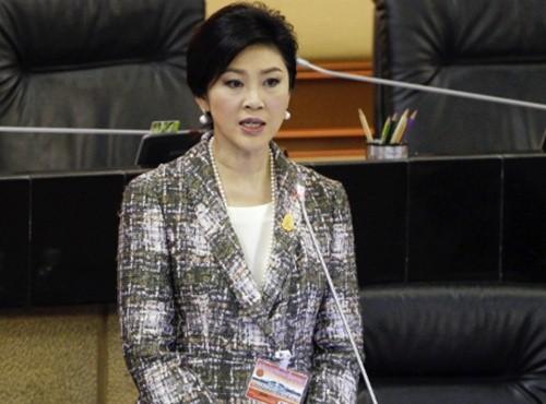 Mantan PM Thailand, Yingluck Shinawatra memberikan keterangan di depan Mahkamah Agung - ảnh 1