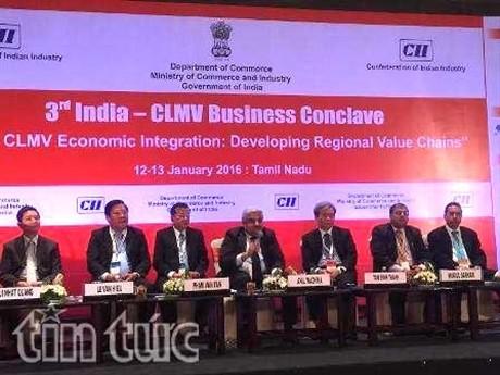 Vietnam menghadiri Konferensi ke-3 kerjasama India dan negara-negara CLMV   - ảnh 1