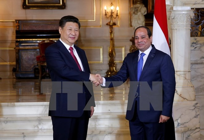 Mesir dan Tiongkok menandatangani 21 permufakatan ekonomi senilai 15 miliar dolar AS - ảnh 1