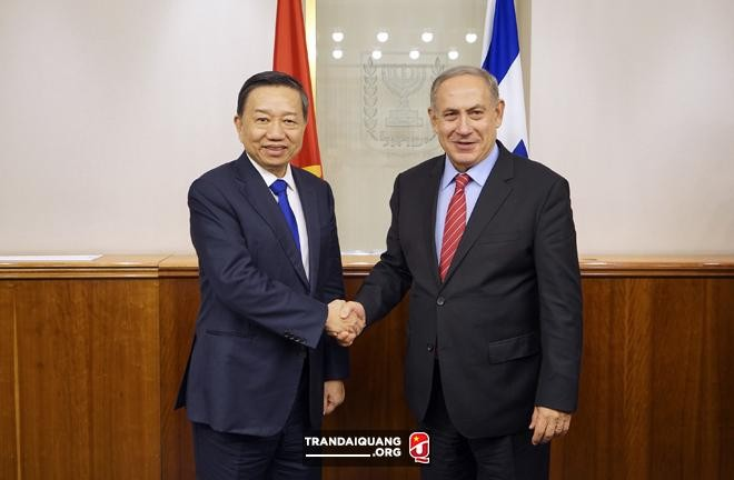 Menteri Keamanan Publik Rakyat Vietnam, To Lam melakukan kunjungan kerja di Israel - ảnh 1