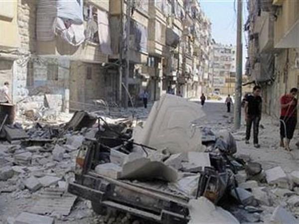 Kira-kira sejuta orang tersangkut dalam daerah –daerah perang di Suriah - ảnh 1
