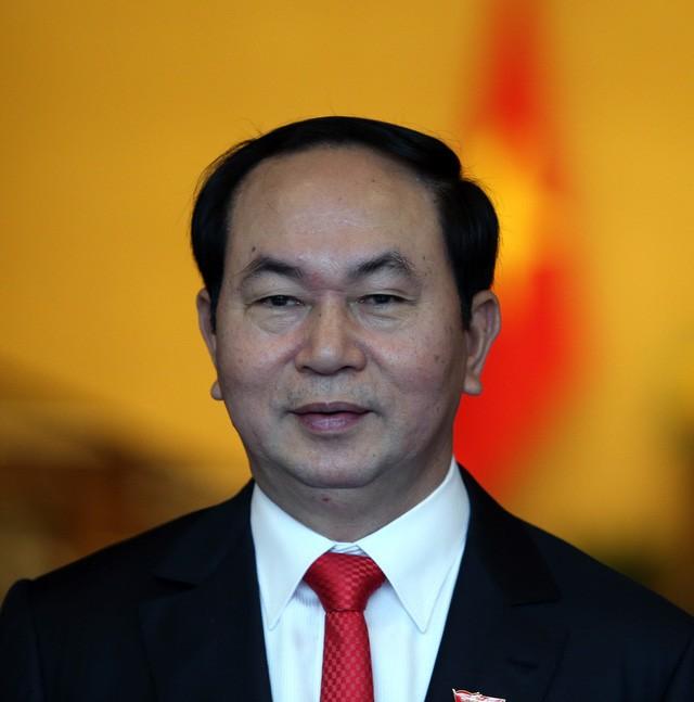 Presiden Negara Vietnam, Tran Dai Quang mengadiri KTT ke-16 Komunitas Francophonie - ảnh 1