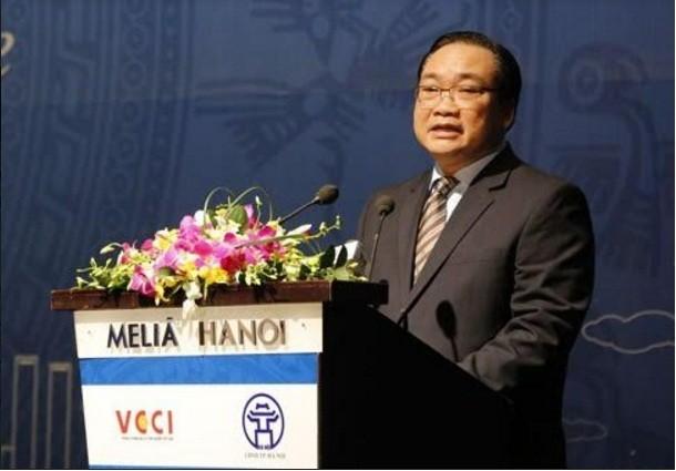 Hanoi melakukan pertemuan dengan badan usaha - ảnh 1