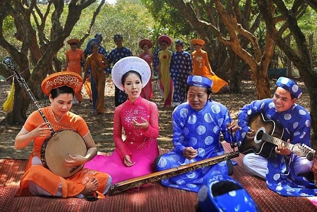 Kesenian Opera Rakyat Cai Luong dan Kesenian lagu Rakyat Don Ca Tai Tu - ảnh 1