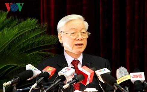 Pers Tiongkok menilai tinggi arti kunjungan yang akan dilakukan oleh Sekjen KS PKV Nguyen Phu Trong  - ảnh 1