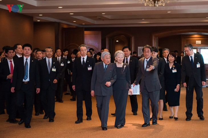 Kaisar dan Permaisuri Jepang melakukan kunjungan Kenegaraan di Vietnam - ảnh 15