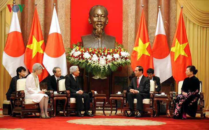Kaisar dan Permaisuri Jepang melakukan kunjungan Kenegaraan di Vietnam - ảnh 6