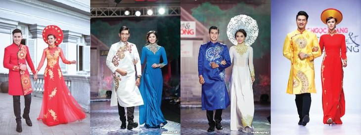 "Memperkenalkan sepintas lintas busana tradisional wanita Vietnam – ""Ao Dai"" - ảnh 1"