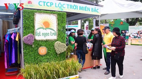 Pembukaan Pekan raya pertama hasil pertanian, kerajinan tangan industri kecil Vietnam - ảnh 3