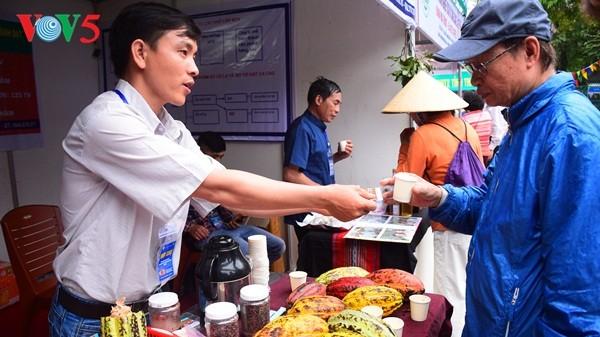 Pembukaan Pekan raya pertama hasil pertanian, kerajinan tangan industri kecil Vietnam - ảnh 15