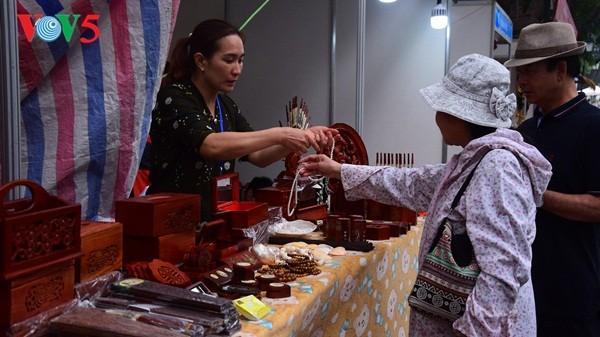 Pembukaan Pekan raya pertama hasil pertanian, kerajinan tangan industri kecil Vietnam - ảnh 21