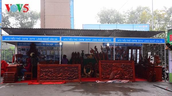 Pembukaan Pekan raya pertama hasil pertanian, kerajinan tangan industri kecil Vietnam - ảnh 17