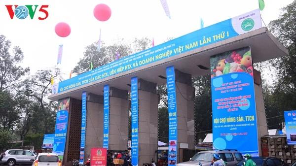 Pembukaan Pekan raya pertama hasil pertanian, kerajinan tangan industri kecil Vietnam - ảnh 1