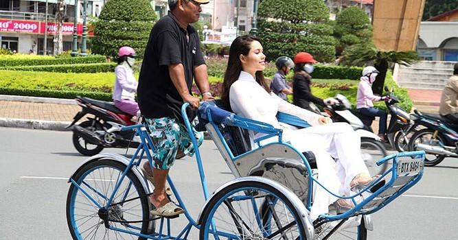 Sepintas lintas tentang becak di Vietnam - ảnh 1