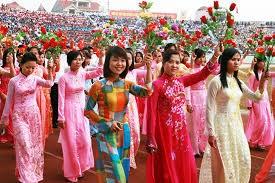 Memperkenalkan wanita Vietnam yang tipikal dalam gerakan pembebasan wanita  - ảnh 1