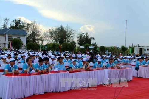 """Rapat umum menyambut  """"Pekan laut dan pulau Vietnam tahun 2017"""" - ảnh 2"""