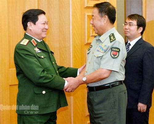 Temu pergaulan persahabatan ke-4 pertahanan perbatasan Vietnam-Tiongkok   - ảnh 1