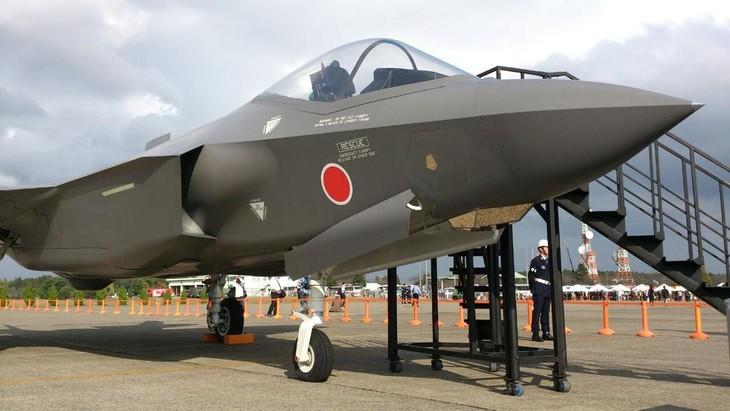 Jepang melakukan secara sukses uji coba pesawat terbang F-35 yang untuk pertama kalinya dirakit - ảnh 1