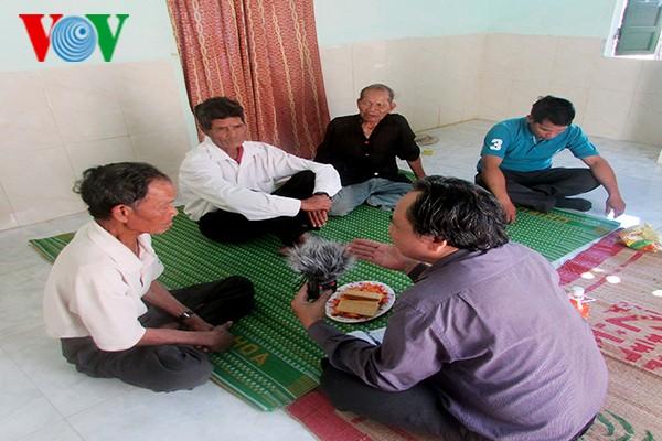 Adat  meminta maaf dari  warga etnis minoritas Xo Dang - ảnh 1