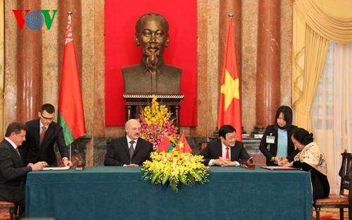 Pernyataan bersama Vietnam-Belarus - ảnh 1