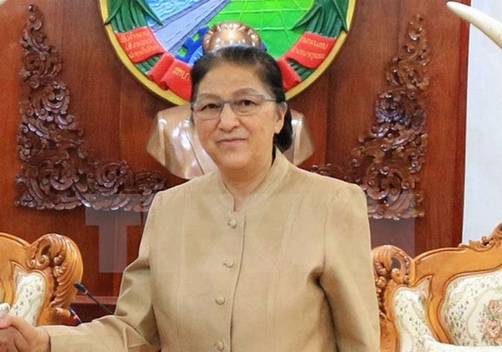 Ketua Parlemen RDR Laos,  Pany Yathotou  memulai kunjungan di Vietnam - ảnh 1