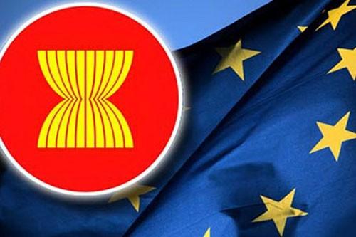Vietnam menghadiri Konferensi ke-24 para pejabat senior  ASEAN-Uni Eropa - ảnh 1