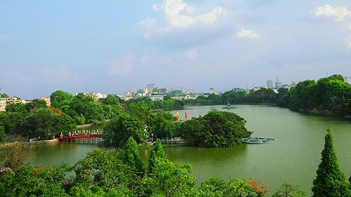 Memperkenalkan sepintas lintas tentang danau-danau di ibukota Hanoi - ảnh 1