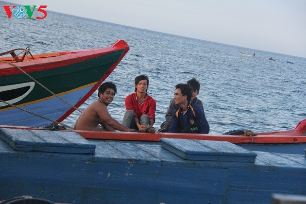 Kehidupan sehari hari di kabupaten pulau Ly Son - ảnh 4