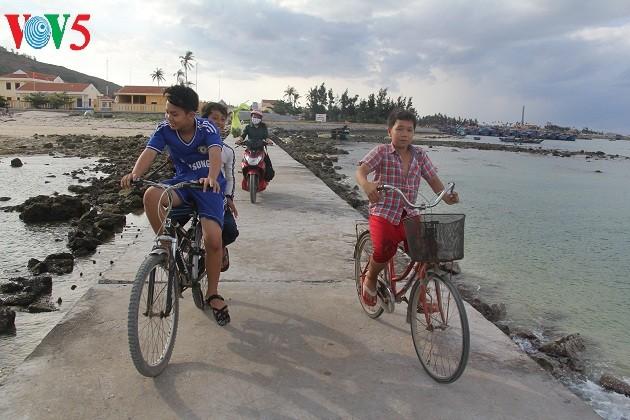 Kehidupan sehari hari di kabupaten pulau Ly Son - ảnh 9