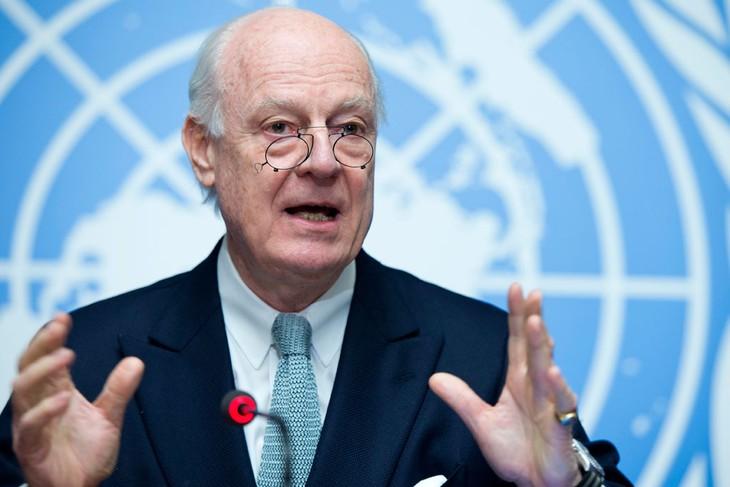PBB memperingatkan bahaya Suriah bisa terpecah - ảnh 1