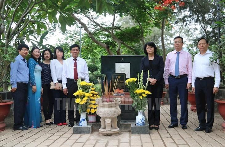 Aktivitas-aktivitas  memperingati ultah ke-70 Hari Prajurit Disabilitas dan Martir 27/7 - ảnh 1