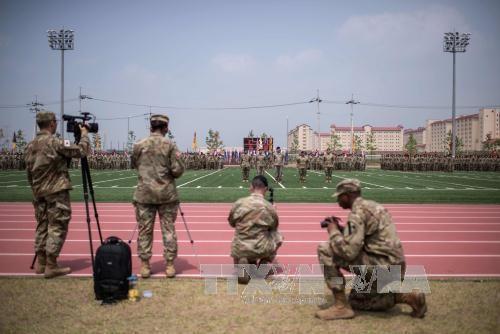RDRK memperingatkan pangkalan militer AS di Republik Korea masih berada dalam jengkauan tembak - ảnh 1