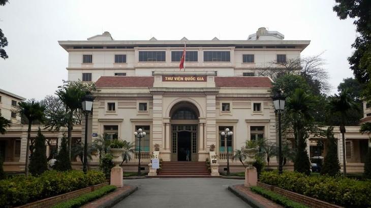 Penjelasan mengenai Perpustakaan Nasional di kota Hanoi - ảnh 1