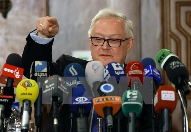 Rusia dan AS mendapat kesempatan menangani ketegangan tentang aset diplomatik - ảnh 1