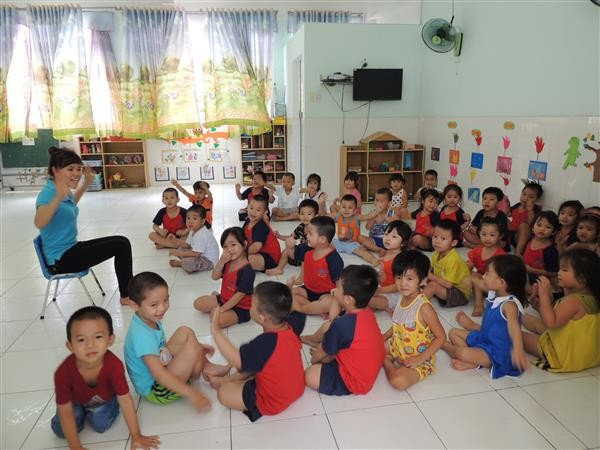 """UNICEF memilih kota Ho Chi Minh untuk menggelarkan """"Gagasan kota yang akrab anak"""" - ảnh 1"""
