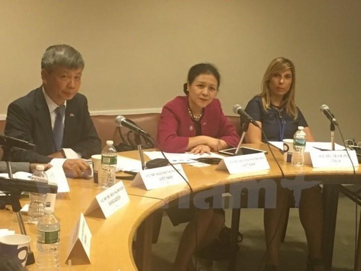 Vietnam berkomitmen melaksanakan dengan sukses semua target perkembangan yang berkesinambungan - ảnh 1