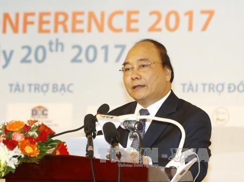 PM Vietnam, Nguyen Xuan Phuc menghadiri Konferensi Promosi Dagang Propinsi Ben Tre 2017 - ảnh 1