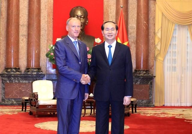 Vietnam ingin memperkuat kerjasama dengan Federasi Rusia dalam penjagaan keamanan - ảnh 1