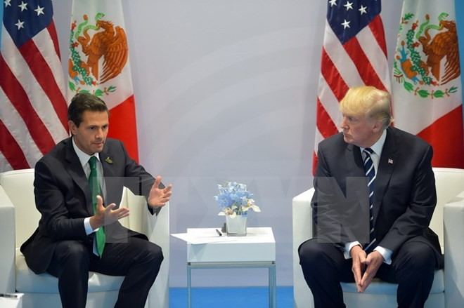 AS bersedia meninggalkan  NAFTA kalau perundingan kembali tidak mencapai hasil - ảnh 1
